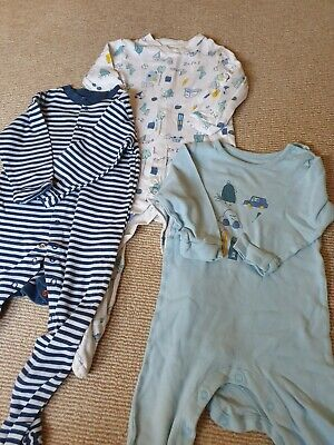 Boys  M&S Sleepsuits 18-24 Months Bundle