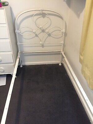Antique Vintage Wrought Iron Bed