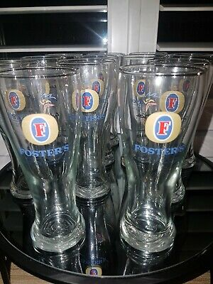 Fosters Sydney 2000 Official Beer Glasses & Fosters Bitter Bag