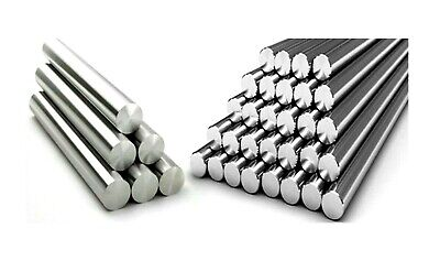 Aluminium round solid bar. 1/4 Inch. Rod. 4 Inch -> 15 Inch length *Top Quality!