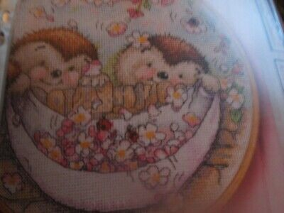'Spring Fever' Country Companions Cross Stitch Chart Only