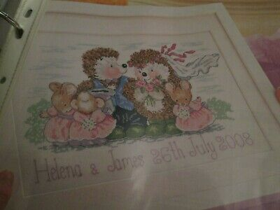 'Here Comes The Bride' Country Companions Cross Stitch Chart Only