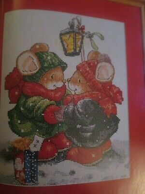 'Christmas Cuties' Country Companions Cross Stitch Chart Only