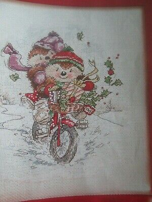 'Winter Ride' Country Companions Cross Stitch Chart Only