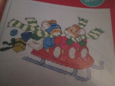 'Snow Much Fun!' Country Companions Cross Stitch Chart Only