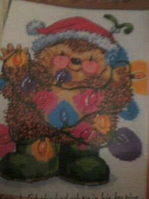 A Little Festive Sparkle' Country Companions Cross Stitch Chart Only