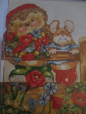 'Poppies' Country Companions Cross Stitch Chart Only