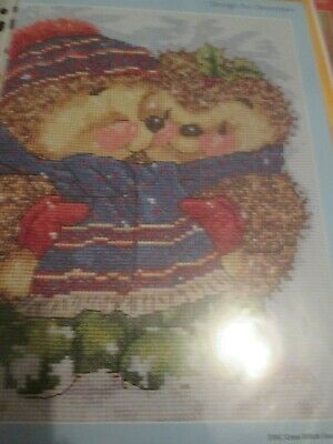 'Christmas Snuggle Up' Country Companions Cross Stitch Chart Only