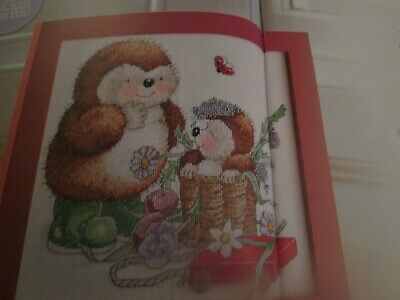 'A Happy Surprise' Country Companions Cross Stitch Chart Only