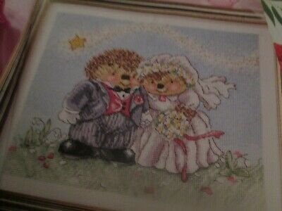'The Happy Couple' Country Companions Cross Stitch Chart Only