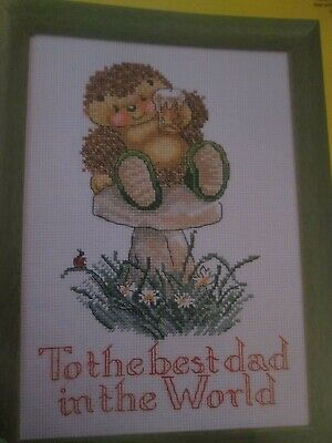 'We Love You, Dad' Country Companions Cross Stitch Chart Only