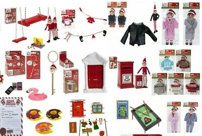 Elf Accessories Props Put On The Shelf Ideas Christmas Clothes Kit Toy Games