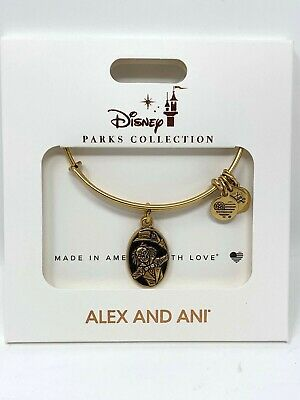 Disney Parks Haunted Mansion 50th Anniversary Alex and Ani Charm Bracelet Ezra
