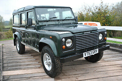Land Rover Defender 110 County Station Wagon TD5  9 seats year 1999 PX swap etc