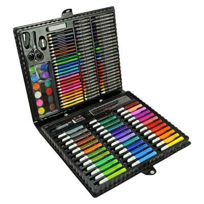 150 Pcs Art Set Childrens/Kids Colouring Drawing Painting Arts & Crafts Case