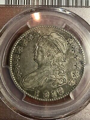 Pcgs Xf40 1818/7 Capped Bust Half Dollar Nice And Original