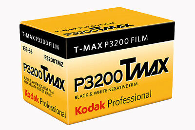 Kodak TMAX P3200 Black and White 35mm Film - 36exp
