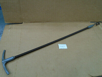 """D57 Mound Huge 30"""" Pump Seal Compression Flax Packing Seal Corkscrew Puller T"""