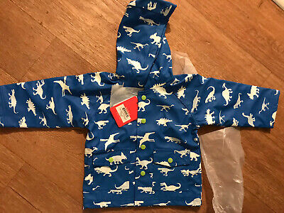 Hatley Boys Raincoat 12-18 Months Dinosaur Colour Changing