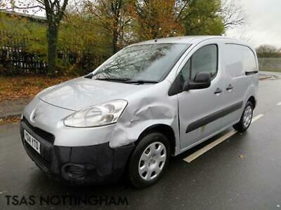 2014 Peugeot Partner 1.6 HDi 75 625 Professional L1 Silver Damaged Salvage CAT N