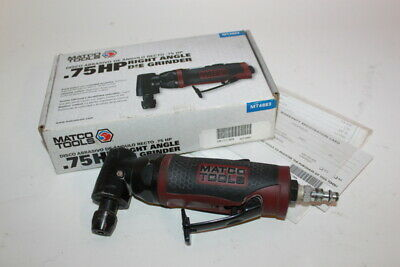 Matco MT4883 Pneumatic .75 HP Air Right Angle Die Grinder Tool Red & Black