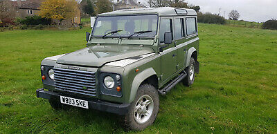 Land Rover Defender 110 County Station Wagon 2000 TD5 *Galvanised Chassis*