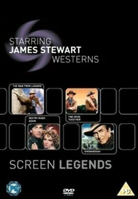 Screen Legends: James Stewart - The Westerns (DVD)  James Stewart