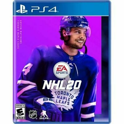 NHL 20 (PS4)(Playstation 4) (Brand New) (Free Shipping)