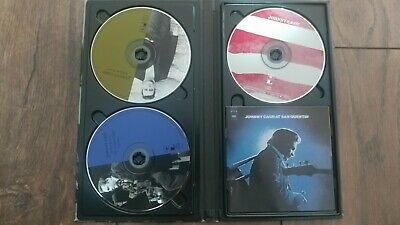 At Folsom Prison/At San Quentin/America [Long Box] by Johnny Cash 3 CD Set Book