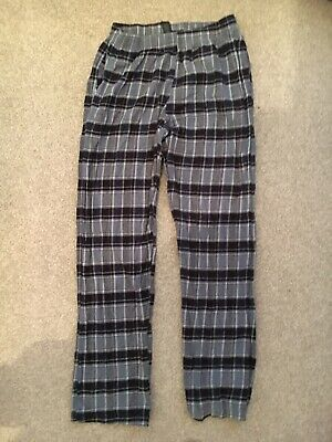 Mens Next Long Pyjama Bottoms, Size: Medium (long Leg)