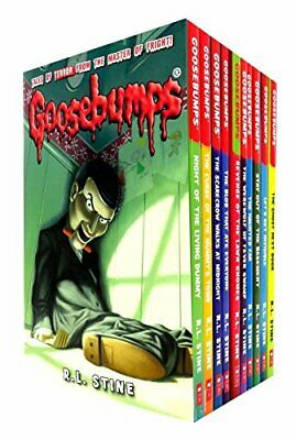 Goosebumps Series 10 Books Collection Set (Classic Covers), R.L.Stine, Excellent