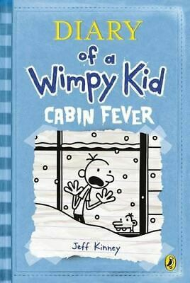 Diary of a Wimpy Kid: Cabin Fever (Book 6), Kinney, Jeff, Very Good, Hardcover