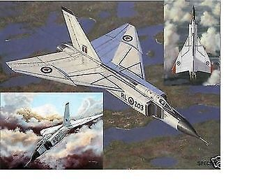 Don Connolly - CF-105 Avro Arrow Set (3 Prints) - Aviation Signed