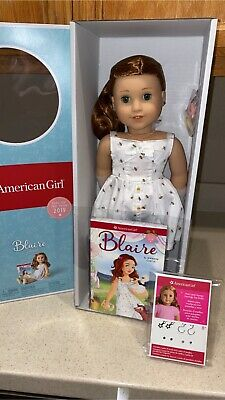 American Girl Doll BLAIRE W/PIERCED EARS, EARRING SET, BRIDESMAID DRESS,NEW!!!