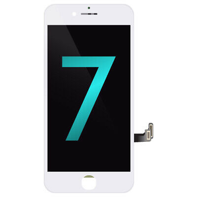 "LCD Assembly Touch Screen Display Replacement for Apple iPhone 7 4.7"" - White"