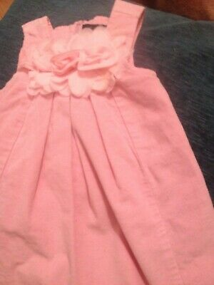 baby girls pink designer french le chic dress 86 combine postage 12-18 months