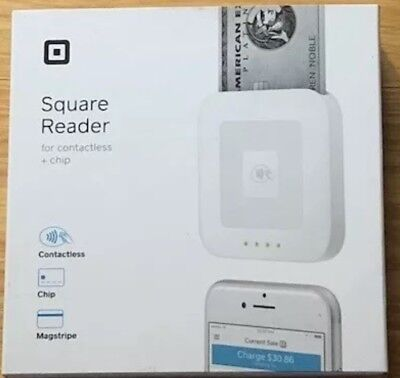 Brand New Square Reader for Contactless + Chip Free Shipping New
