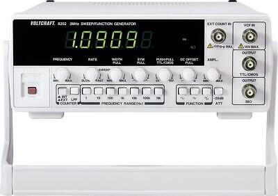 Voltcraft 8202 Function Generator Mains Operated 2 MHZ (Max) 1-Kanal #Likenew