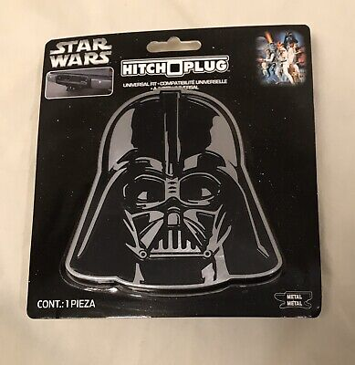 Plasticolor 002282R01 Star Wars Darth Vader Hitch Cover 1 Pack