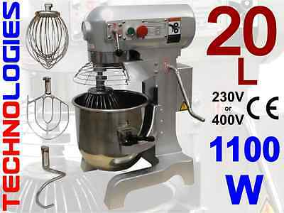 PLANETARY DOUGH MIXER 20L / 10KG dough HOBART design 230 or 400V NEW! IN STOCK!