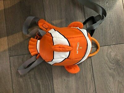 Little tikes bag with reins nemo fish style unisex toddler