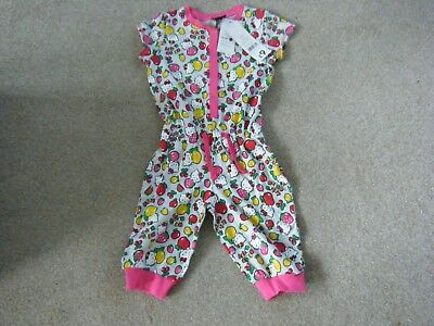 Girl's Grey Multi Hello Kitty Sleepsuit Age 4-5 Years from George