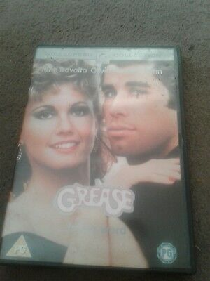 """""""GREASE """"DVD +singalong booklet"""
