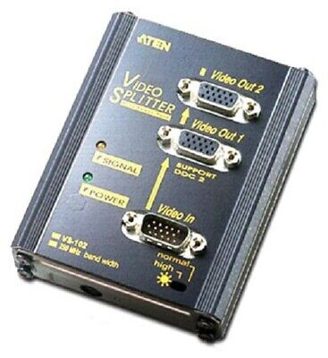 Aten 2-PORT VGA SPLITTER 1920x1440 Resolution, Long-Distance Transmission