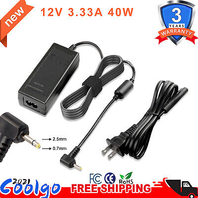For Samsung Chromebook 3 XE500C13 2 XE500C12 PA-1250-98 Charger AC Adapter 40W