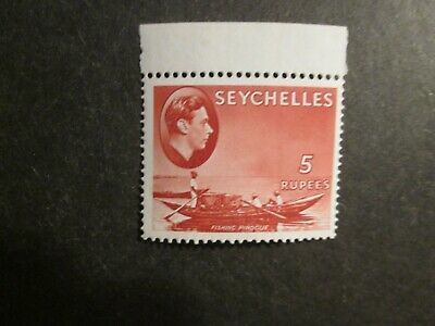 Seychelles 1938 5 R  Mint very lightly hinged or better