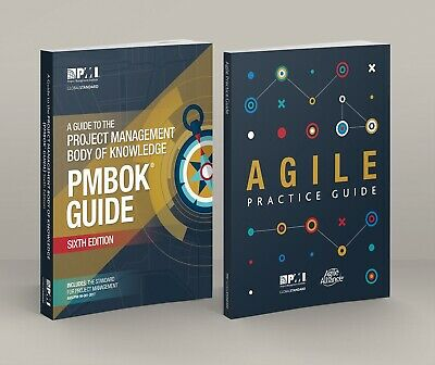 PMI PMBOK Guide 6th Edition 2018 + Agile Practice Guide - P.D.F. Email Delivery!