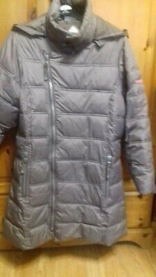 Next girls' winter jacket with a hood, size 9-10 y.o. Excellent condition