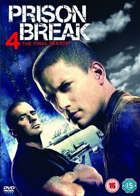 Prison Break - Season 4 (DVD) (2009) Wentworth Miller
