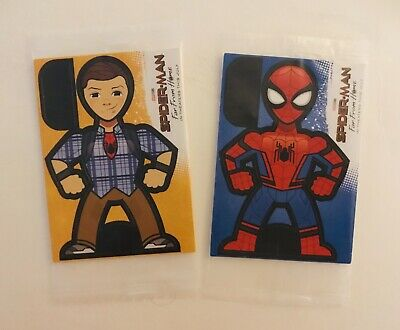 Sealed Lot of 2•Kellogg's SPIDER-MAN Far From Home Promo•Download App/Scan/Play